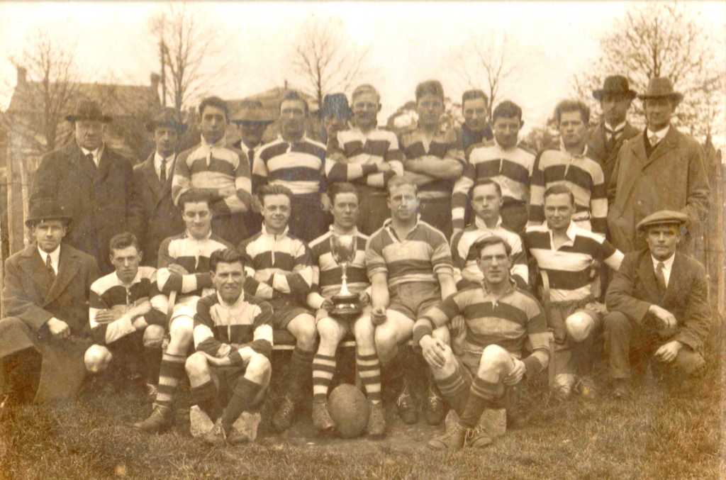 Painswick RFC - 1931-1932 1st XV Winners of the Mid Glos Rugby Cup