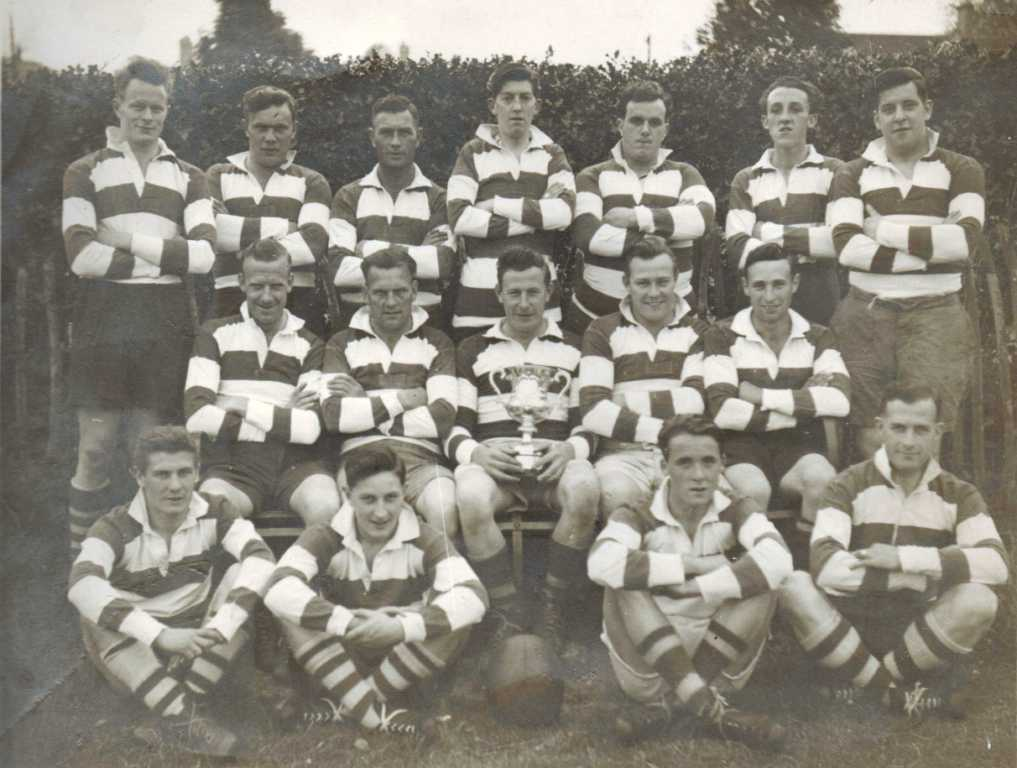Painswick RFC - 1954 North Gloucestershire Combination Cup Winners