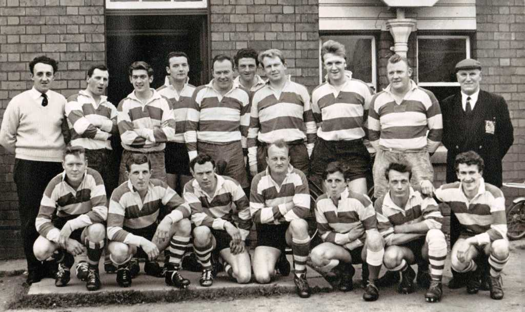 Painswick RFC - 1966 Mid Gloucestershire Cup Finalists