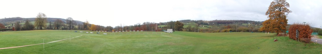 Broadham Fields (04-02) - The view from the patio of the Club House