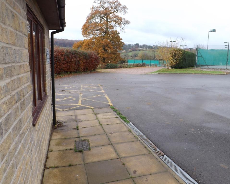 Broadham Fields (02-11) - The Club House (external view)