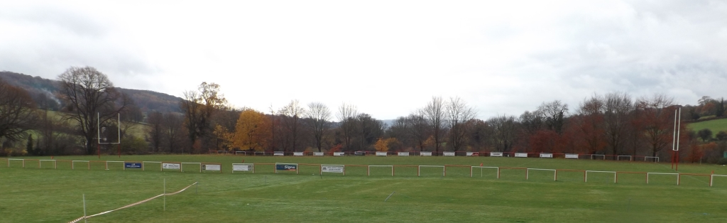 Broadham Fields (05-03) - The view from the patio of the Club House
