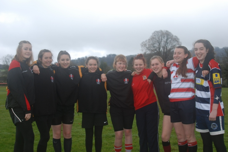 Painswick RFC Girls Squad 2016-2017